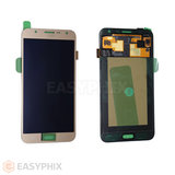 Samsung Galaxy J7 J700 LCD and Digitizer Touch Screen Assembly [Gold]