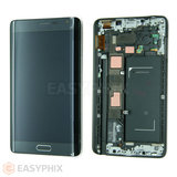 Samsung Galaxy Note Edge N915G LCD and Digitizer Touch Screen Assembly with Frame [Grey] (High Quality)