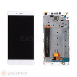 Xiaomi Redmi Note 4 LCD and Digitizer Touch Screen Assembly with Frame (Mediatek) [White]