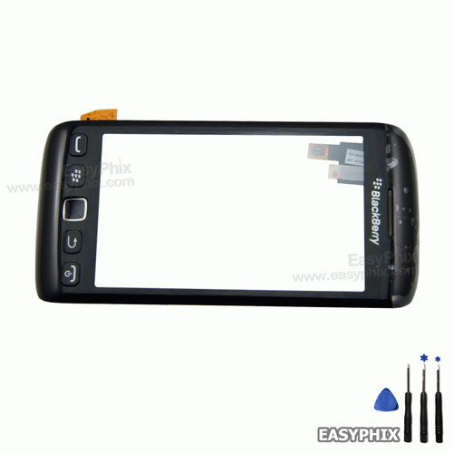 Blackberry 9860 Digitizer Touch Screen with Frame + Button + Ear Speaker Assembly