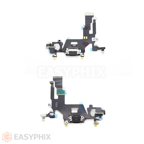 Charging Port Flex Cable for iPhone 11 [Black]