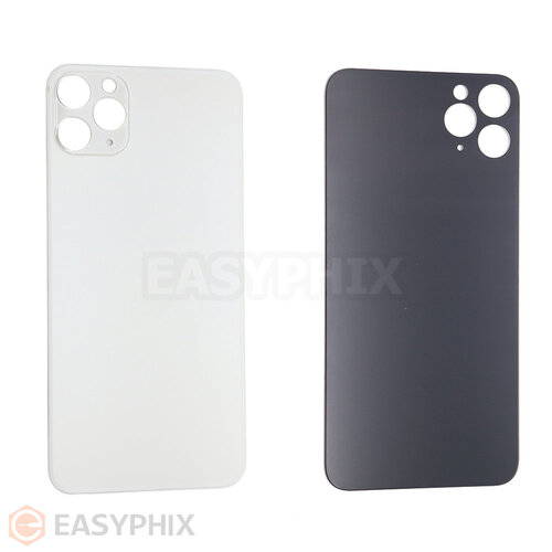 Back Cover for iPhone 11 Pro Max (Bigger Camera Hole) [White]