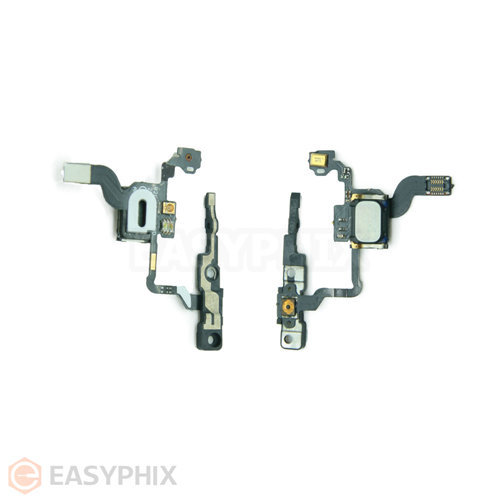 Proximity Light Motion Sensor Power Switch On Off Button Flex Cable With Earpiece Speaker for iPhone 4G