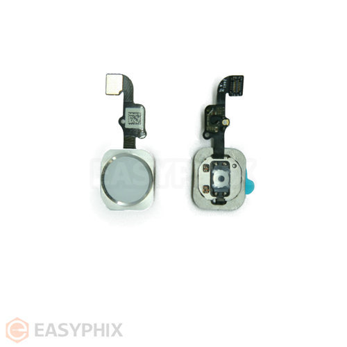 "Home Button Flex Cable Assembly for iPhone 6 4.7"" / 6 Plus 5.5"" [White]"