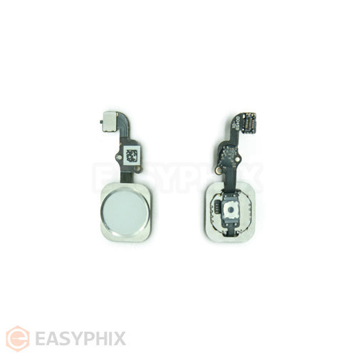 "Home Button Flex Cable Assembly for iPhone 6S 4.7"" / 6S Plus 5.5"" [White]"