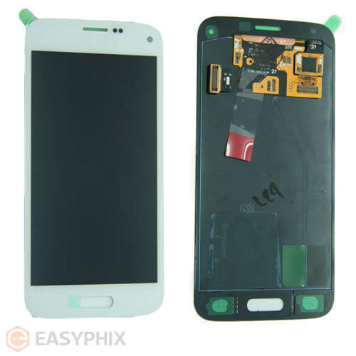 Samsung Galaxy S5 Mini G800 LCD and Digitizer Touch Screen Assembly [White]