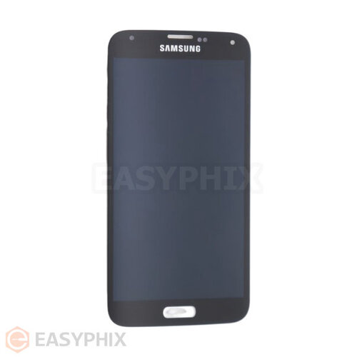 Samsung Galaxy S5 G900I LCD and Digitizer Touch Screen Assembly with Home Button (Refurbished) [Black]